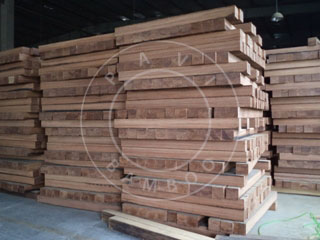 tampered bamboo blocks