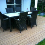 thin bamboo decking