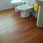bathroom strand woven parquet