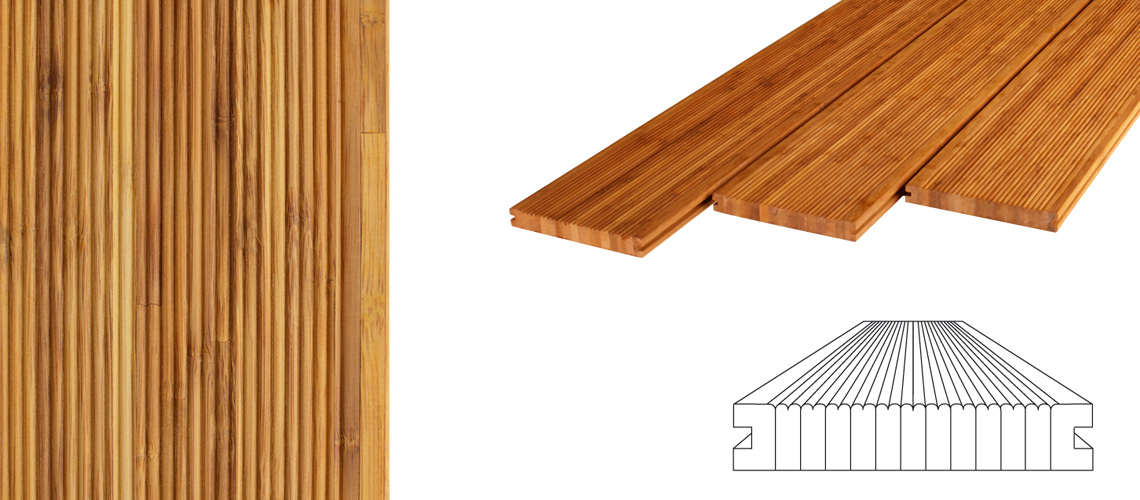 Bamboo Decking Panels