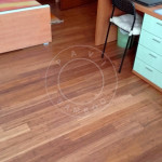 floating carbonised strand woven flooring