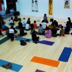 parquet bambu festival yoga