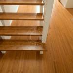 bamboo interior stairway