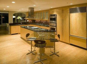 horizontal natural kitchen